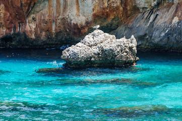 Sicilia, Riserva dello Zingaro scogli