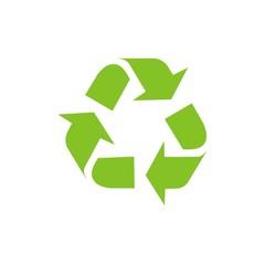 Icono reciclaje color FB