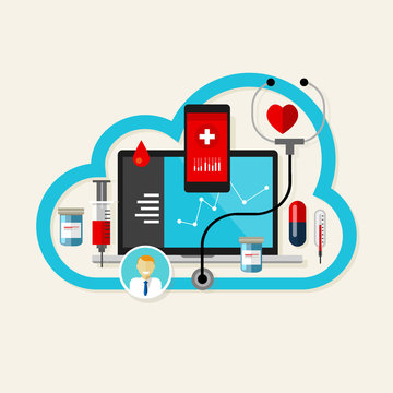 online cloud medical health internet medication