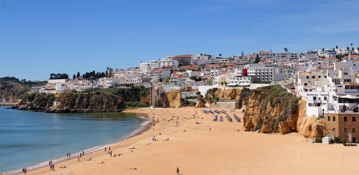 Albufeira- famous resort in the Algarve region, Portugal