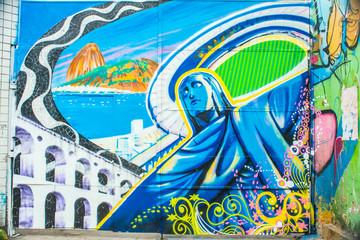 Graffiti in Rio de Janeiro