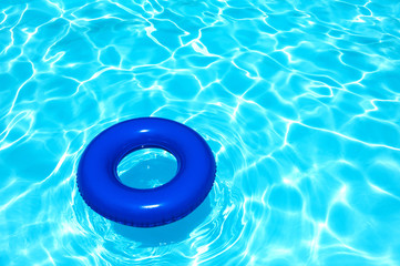 Buoy object at swimming pool