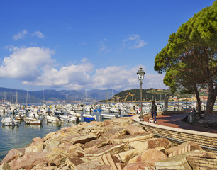 View to the Lerici.