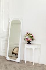 Aristocratic apartment interior in classic style