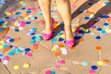 shoes and party