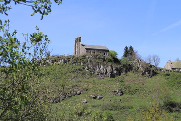 chapelle st Roch - Fortunies - cantal