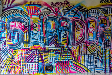 Grafittis en Urbex
