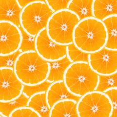 slice orange as background