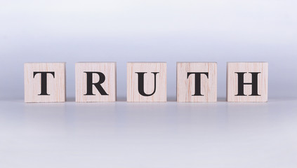 Truth Word cube photo