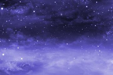 starry night sky, background