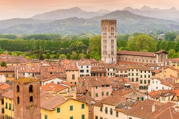 Obraz Lukka, Toskania, Włochy - fototapety do salonu