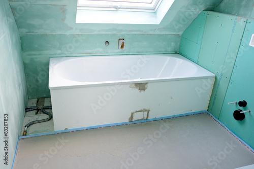 badsanierung stockfotos und lizenzfreie bilder auf bild 83207853. Black Bedroom Furniture Sets. Home Design Ideas