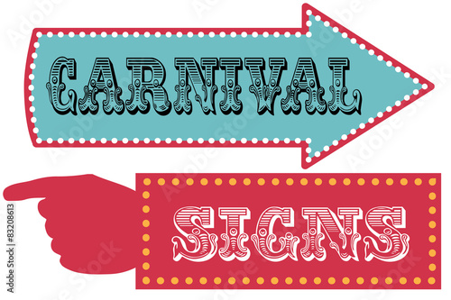 circus sign template - photo #10