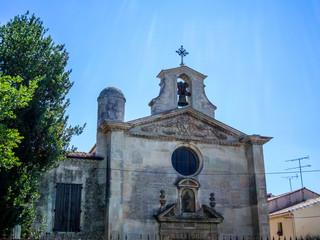 Ville fortifiée d'Aigues-Mortes, la Chapelle des Pénitents Gris