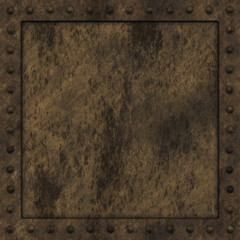 Armoured box generated texture