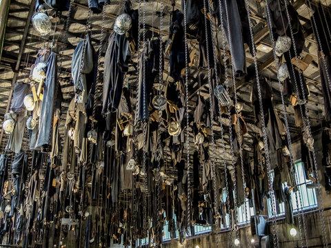 Puits Couriot Musée de la mine Salle des pendus