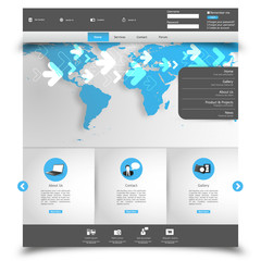 Professional Clean Business Website Template