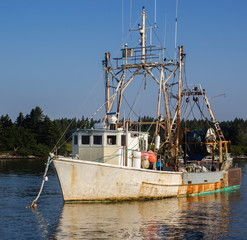Old Maine Fishing Trawler