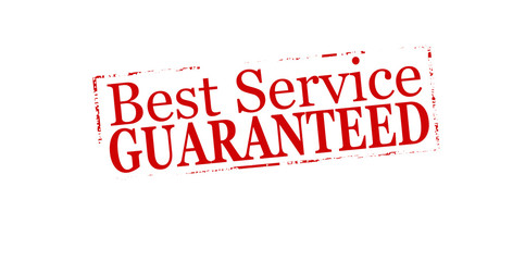 Best service guaranteed