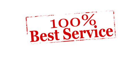 One hundred percent best service