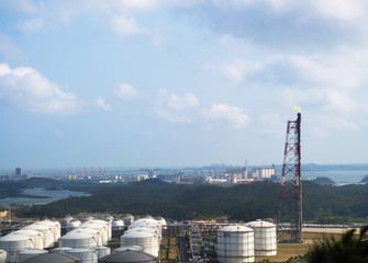 refineries and facilities