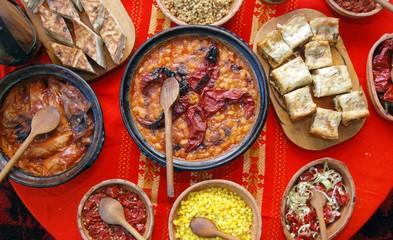 Tasty macedonian food