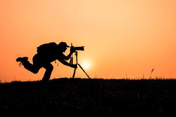 gündoğumu fotoğrafçı silüet