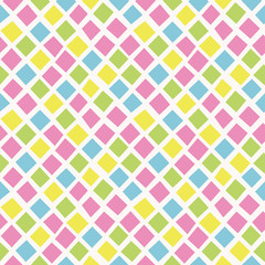 Seamless pattern random square. ランダム四角パターン。