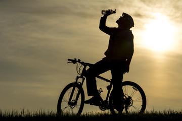 bisikletle mola vermek&su molası