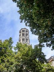 Uzès La cathédrale Saint-Théodorit et la tour Fenestrelle
