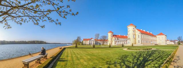 Foto auf Leinwand Schloss Schloss Rheinsberg