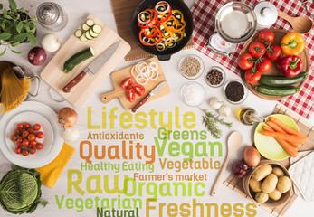 Creative vegetarian kitchen