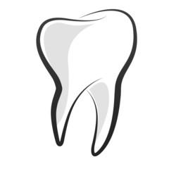 Fototapeta Ilustracja zęba obraz