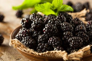 Fresh Raw Organic Blackberries