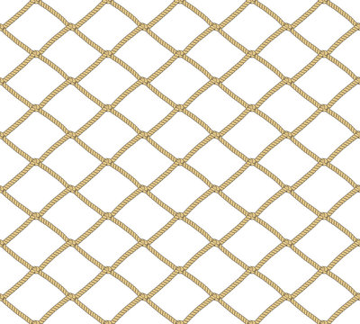 Seamless net pattern. Vector background. Repeating background.