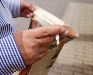 Rökare läsare tidning