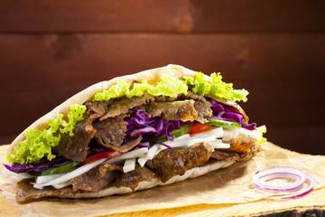 Beef Kebab in a bun