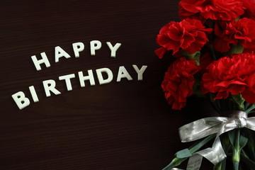 誕生日 メッセージ 花