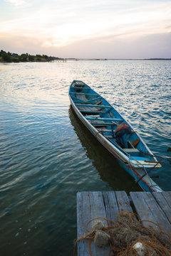 Boat in Seine de Saloum