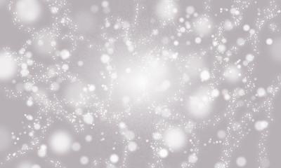 Background bubbles, grey