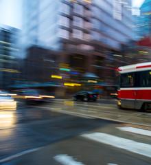 Urban scene in Toronto
