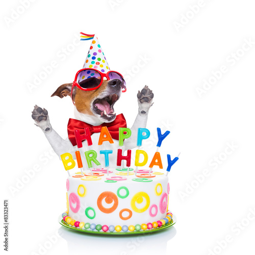 Happy Birthday Dog Singing Stockfotos Und Lizenzfreie Bilder Auf