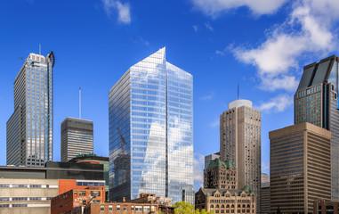 Montreal skyscrapers.