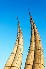 Reed Boats in Huanchaco, Peru