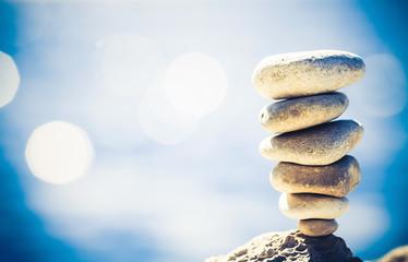 Balance inspiration wellness retro concept