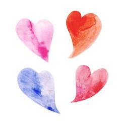 four heart symbol