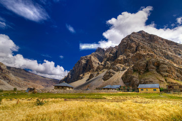 Drass village, Kargil, Ladakh, Jammu and Kashmir, India