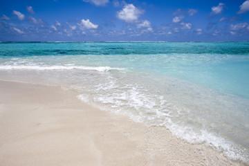 Tropical beach, Maldives.