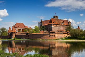 Fotobehang Kasteel The castle in Malbork