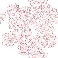 flowers bouquet pattern